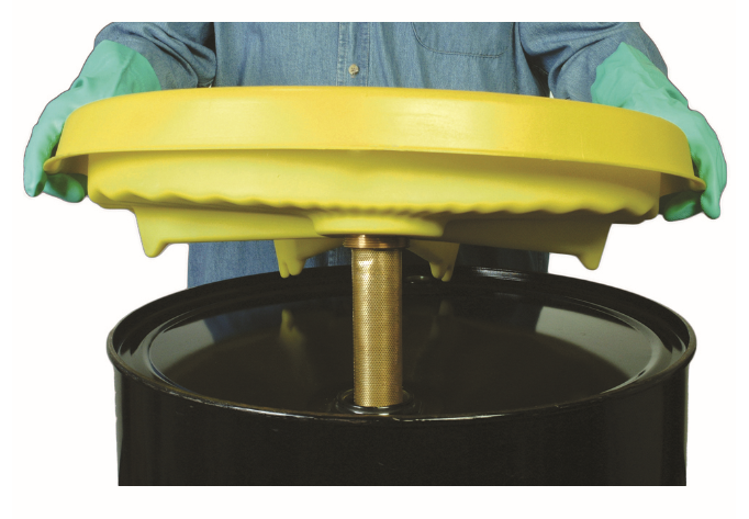 poly drum safety funnel