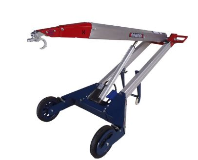 powered hand truck fork attachment