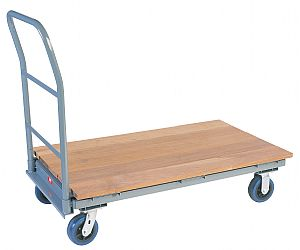 Rot Resistant Ironwood Over Steel Platform Trucks