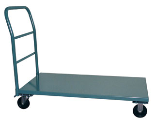 3000 Pound Capacity Steel Platform Trucks