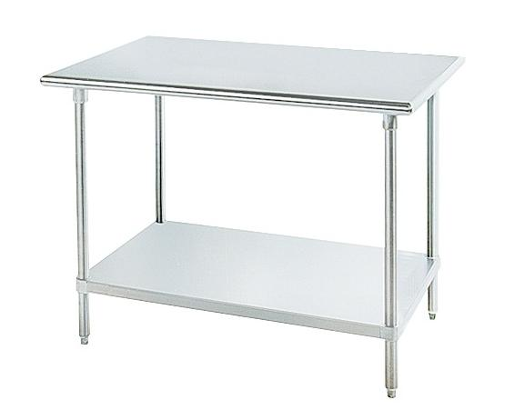 quick ship stainless steel worktable