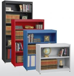 radius edge bookcase