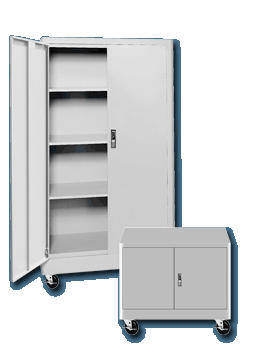 Radius Edge Mobile Storage Cabinets