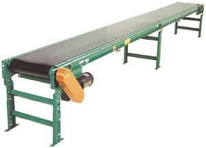 Box Style Slider Belt Conveyor
