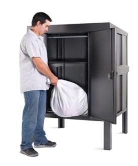 Penco Linen Storage Cabinet