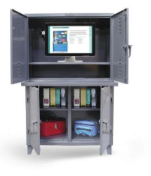 single compartment commercial computer cabinet