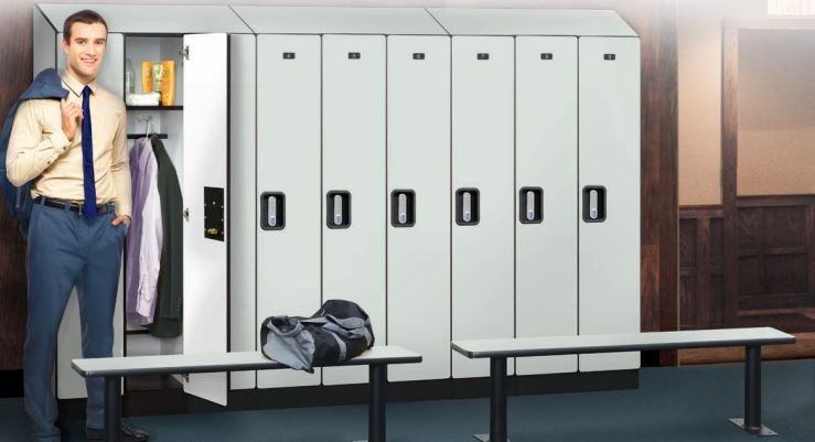 single tier design lockers