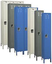 valumaster single tier locker - Metal Lockers