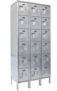 Economy Stainless Steel Box Lockers