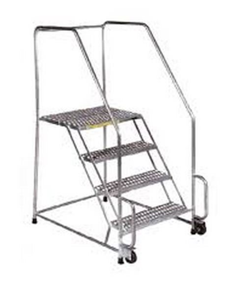 stainless steel tilt ladder