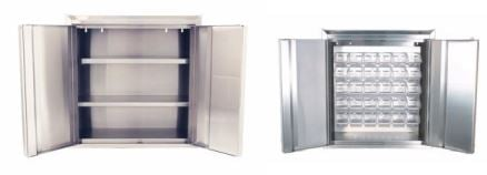 Wall Mounted Stainless Steel Cabinets