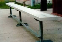 Aluminum Team Benches