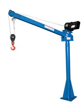 steel power lift jib cranes