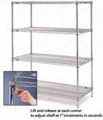 Metro Super Adjustable 2 Shelving