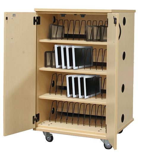 Tablet Storage Cabinets · LAPTOP STORAGE CART