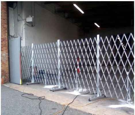 tall portable gates