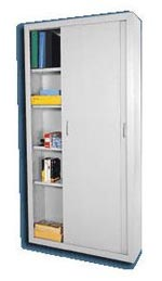 Sliding Door All Welded Storage Cabinets