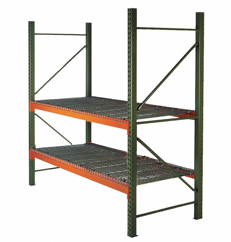 tear drop pallet racking