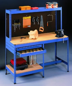 Valumaster Work Benches With Narrow Drawer
