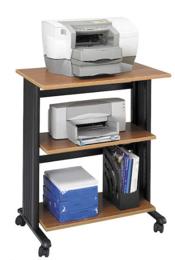 three level adjsustable printer stand