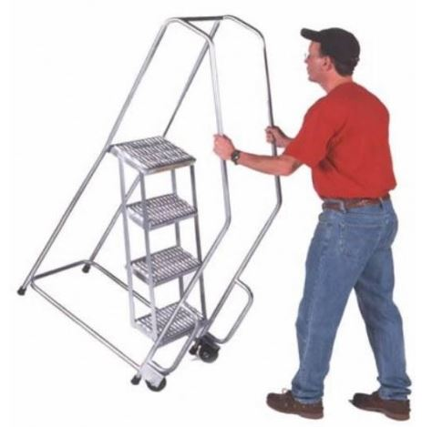 tilt and roll ladder