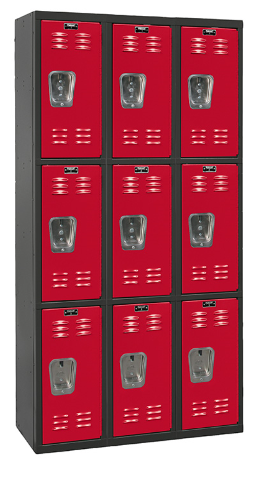 triple tier stylish hallowell lockers