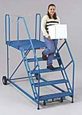 Next Step Ultra Wide Rolling Ladders