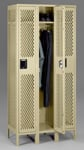 Assembled Single Tier Ventilated Steel Locker With Legs