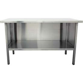 Enclosed Stainless Steel Work Benches