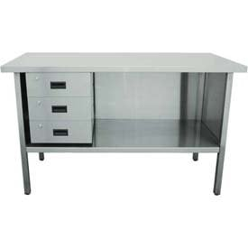 Stainless Work Bench With Deluxe Drawers