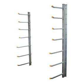 wall mounted cantilever racks