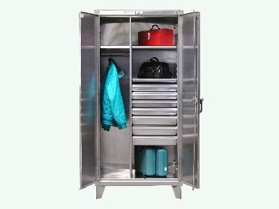 Stainless Steel Cabinet With Drawers