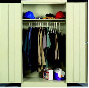 Tennsco Wardrobe Cabinets